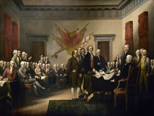 Decor Poster.Home interior design.Room wall print.American Independence art.6821