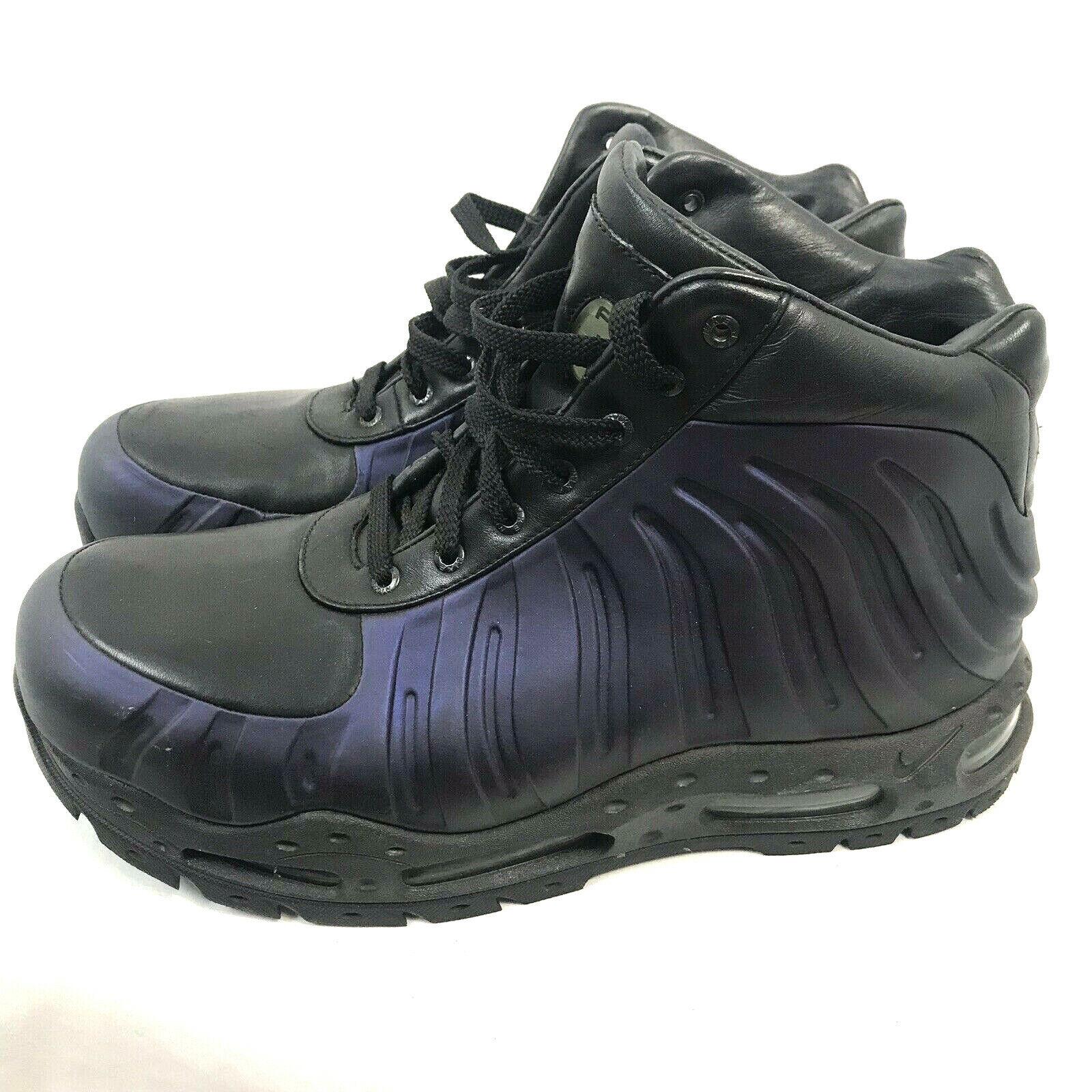 Nike Air Max Foamposite Foamdome Stiefel,Aubergine,Herren Größe UK 11,333791-504
