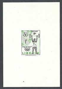 Liberia 1960 YV 368 Olympic Games in Sheet MNH VF