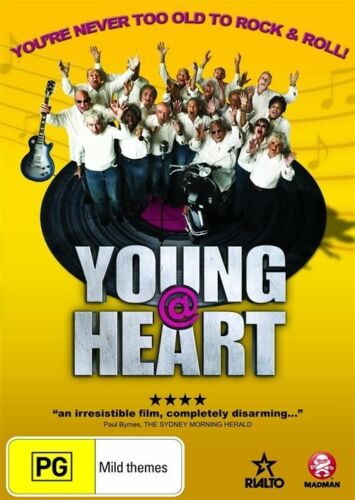1 of 1 - A21 BRAND NEW SEALED Young @ at Heart (DVD, 2009) Region 4 AUS
