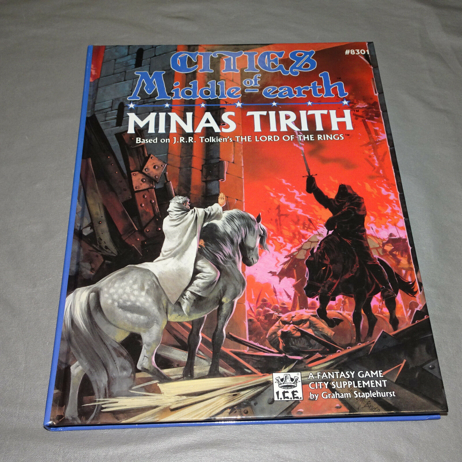 Cities of Middle -Ekonsth MINAS TIRITH 8301 I.C.E. merp - 1988 Hardcover