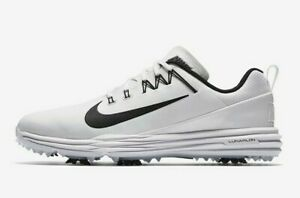 Nike-Lunar-Command-2-Wide-Men-039-s-Golf-Shoes-UK-10-5-EU-45-5-US-11-5-849969-100