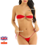 Micro-Bikini-Women-Brazilian-G-String-Set-Thong-Swimwear-Swimsuit-Small-to-3XL miniatura 8