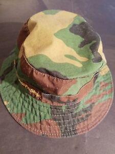 79080b37272 Bass Pro Shops Youth BDU Camo Camoflage Wide Brim Sun Hunting Hat ...