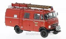 Mercedes Benz L319 , Feuerwehr Lübeck, Kastenwagen, 1961  1:43 NEO 96806