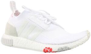 Details zu Adidas NMD Racer PK W Primknit Damen Sneaker Schuhe weiß CQ2033 Gr. 36 41 NEU