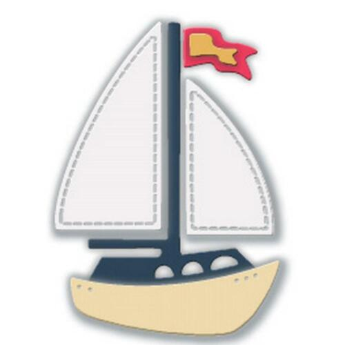 Dies Small Sailboat Impression Obsession DIE832