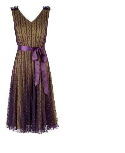 Beatiful  Jacques green  Spoted Dress -Brand New With Tag