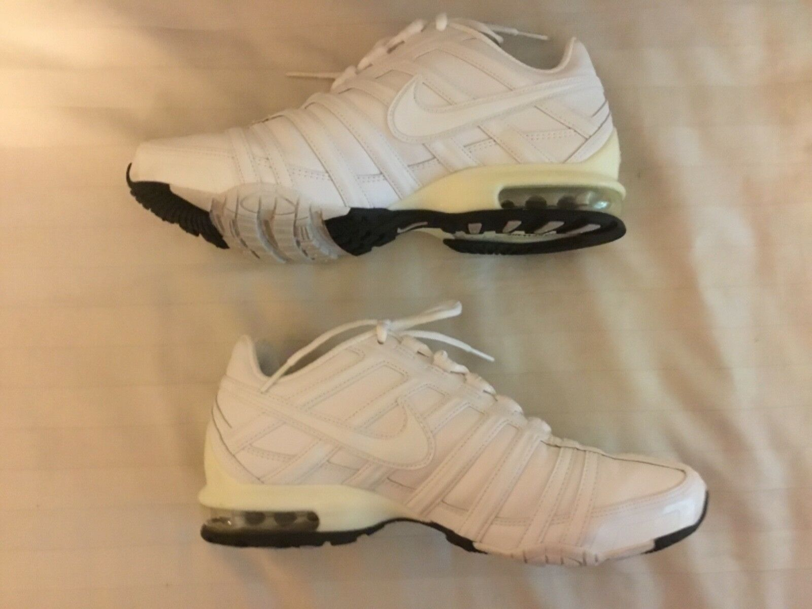Nike Womens Air Max 90 90 90  Trainer SL White  Size 8 Leather 5bbbd7