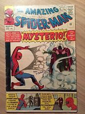 Amazing Spider-man #13 3.5 VG- First Appearance of Mysterio 1964