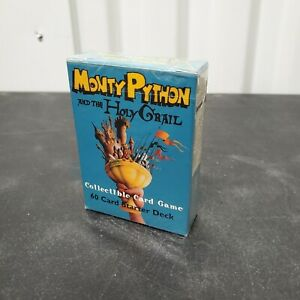 Monty Python and the Holy Grail Collectible Card Game CCG Sealed Starter Deck