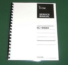 Icom IC-910H Service Manual - Premium Card Stock Covers & 32LB Paper full color