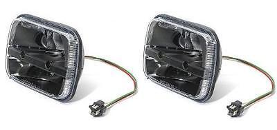 Truck-Lite 27450C Pair Of Rectangular LED 5X7 GM Ford Van Jeep XJ YJ Headlights
