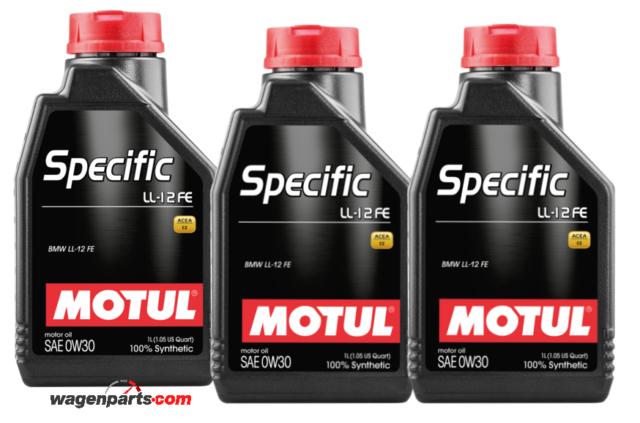 Aceite Lubricante Motor Bmw Mini Acea C2 Motul Specific LL-12 FE 0W30, 3 litros