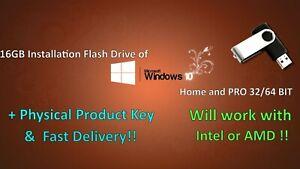 Microsoft-Windows-10-Pro-Home-on-16GB-Flash-Drive-Activation-Key-32-64-Bit