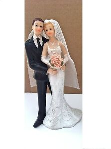 Cake Topper Figure Decoration WEDDING  Characters - BRIDE AND GROOM