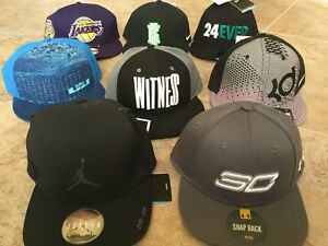 618770b2bb NEW Jordan Kobe Lakers Kyrie Curry Lebron Witness KD Hats Caps NBA ...
