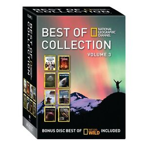 Best of National Geographic Channel Collection Volumes 3, 4, and 5 - New & Open