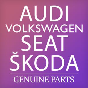 Genuine AUDI SEAT SKODA A6 Allroad Qu Quattro Clip 2-Part x5 4H0867260