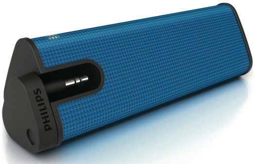 Philips SBA1610/37 Mini-Prism Portable Speaker 2-Watt 3.5 mm