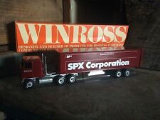 Vintage Die Cast Winross Collectible Advertising Tractor - Trailers , SPX Corp.