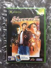 BRAND NEW FACTORY SEALED SHENMUE 2 FOR ORIGINAL XBOX
