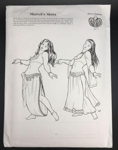 Atria\'s Fashion Sewing Pattern #17, Sharreh\'s Belly Dancer Skirt ...