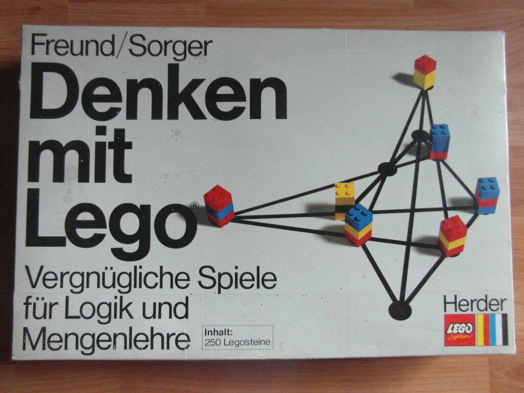 Lego penser avec LEGO livre années 70er nr2
