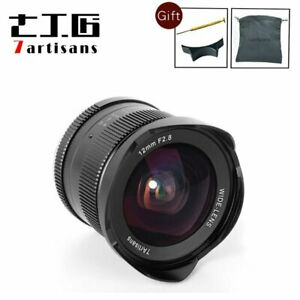 7artisans 12mm F2.8 APS-C Canon EOS M EF-M Mount Wide Angle Manual Fixed Lens