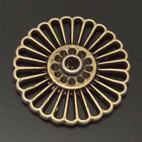 01924 Antique style Bronze Tone Alloy wheel charm necklace pendant Hot 20pcs