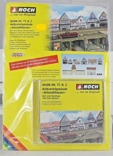 "Noch 60306 Halbreliefgebäude /""Altstadthäuser/"" für HO//TT//N//Z Neu mit OVP"