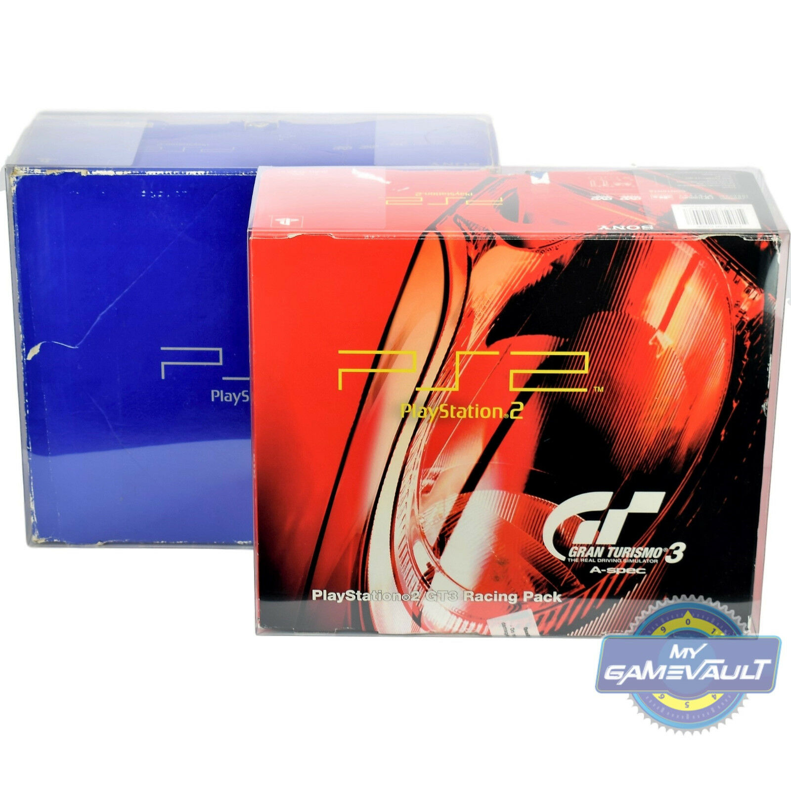 1 Box Protector for PlayStation 2 PS2 Console STRONG 0.5mm Plastic Display Case