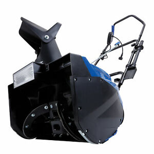 Snow-Joe-18-Inch-Electric-Snow-Thrower-15-Amp-Motor-Headlights-Refurbished