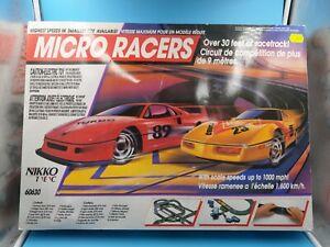 jouet-vintage-ancien-circuit-electrique-nikko-micro-racer-BE-non-teste
