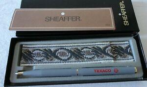 SUPERB VINTAGE SHEAFFER//USA WHITE NO NONSENSE CT BALLPOINT PEN /& BOX