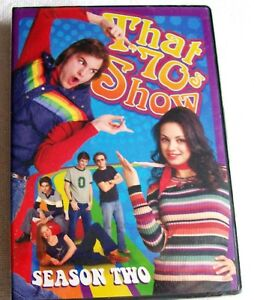 THAT  70's SHOW  - SEASON  2 (DVD, 2011, 3-DISC SET ) - NEW AND  FACTORY SEALED