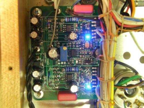 Active Bias Supply for quatro Tubes AB-Q Single pcb to Control 4 Power Tubes