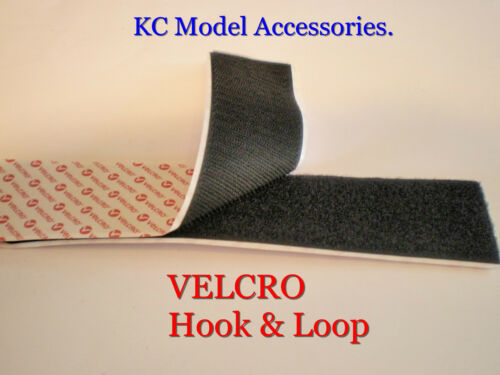 Premium velcro adhésif collant Arrière Crochet /& Boucle Ruban 1m crochet /& boucle 1m