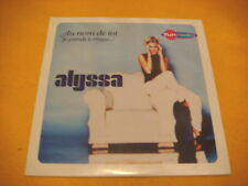 Cardsleeve Single CD ALYSSA Au Nom De Toi 2TR 2001 french pop