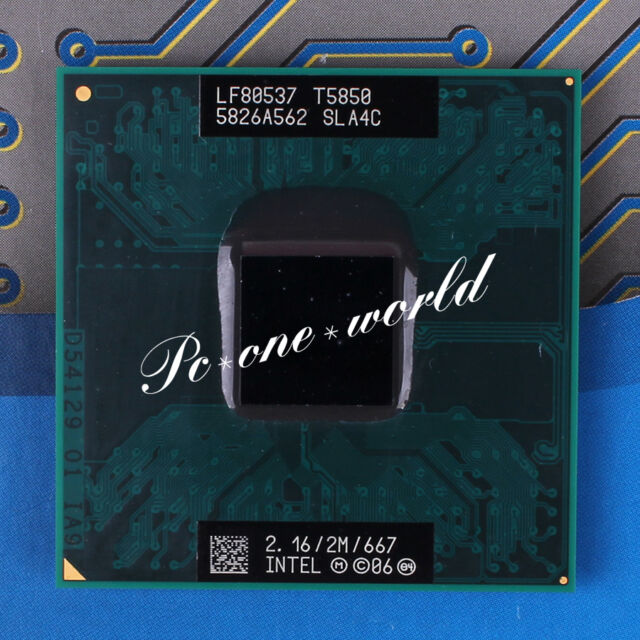 100% OK SLA4C Intel Core 2 Duo T5850 2.16 GHz Dual-Core Laptop Processor CPU
