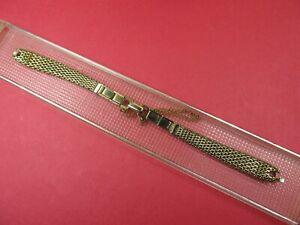 NEW-SPEIDEL-Vintage-Ladies-10K-Gold-Filled-Mesh-Watch-Band-L-K