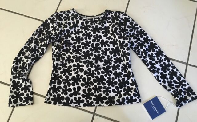 a845e7b8bff NWT MARIMEKKO For Target Girls Paprika Print Long Sleeve Shirt Rash Guard  Large