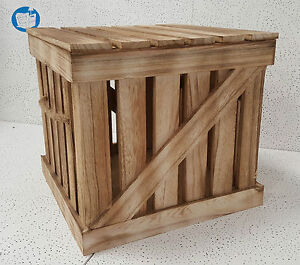 Deko Kisten holzkisten dekokisten holzbox weinkiste mit deckel in versch größen