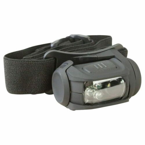 Olive Green Kombat Predator MKII Headlamp Torch LED Red Filter Tactical Black