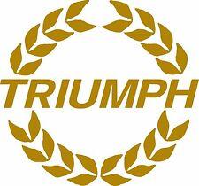 TRIUMPH Dolomite, Spitfire, gt6 TRIUMPH Laurel Leaf cofano DECAL xkc3700
