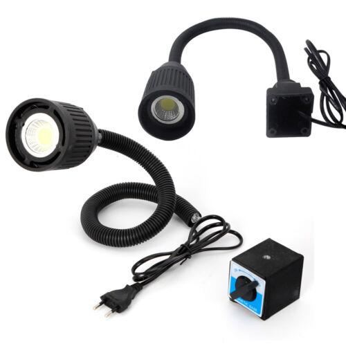 5W LED Flexibellicht Arm Magnetische Arbeitsleuchte CNC Maschinenlampe 220V DE