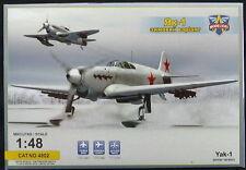Modelsvit Models 1/48 YAKOVLEV Yak-1 WINTER VERSION Soviet Fighter on Skis