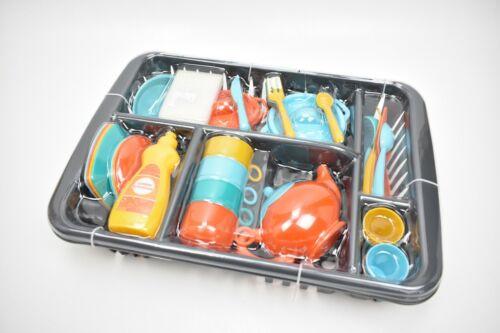 Kinder Geschirr Set Spielgeschirr Geschirrkorb NEU//OVP
