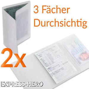 Fahrzeugschein-Huelle-KFZ-Schein-Schutzhuelle-Mappe-Ausweis-Zulassung-Kartenhuelle