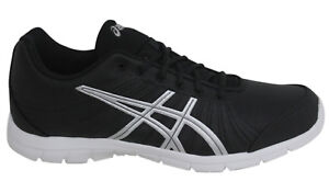 Asics AYAMi Stream Lace Up Black Grey Synthetic Womens Trainers ... 0049bd28b6